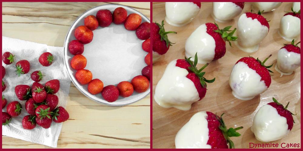 Erdbeeren vorbereiten
