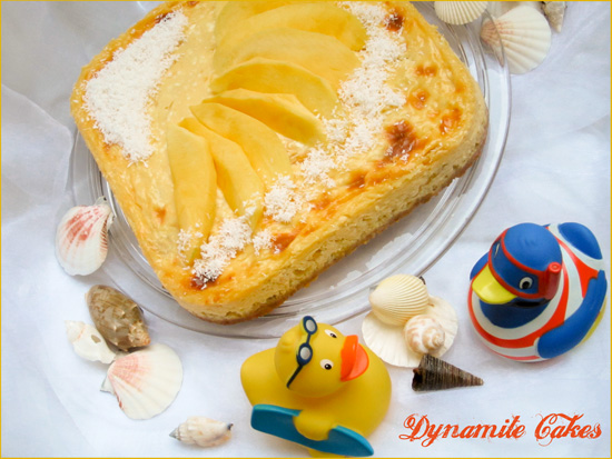 Cottage Mango Cheesecake by DynamiteCakes.de