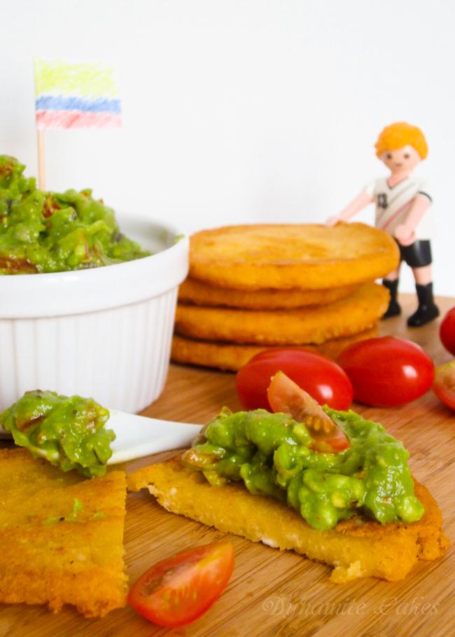 Arepas mit Guacamole