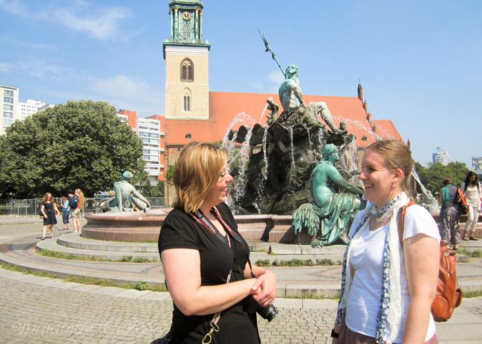 Neptunbrunnen Berlin Bloggertreffen