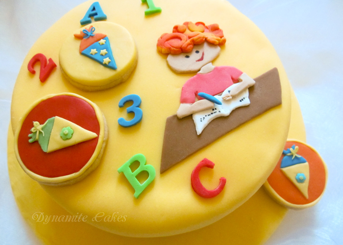 Torte und Kekse zur Einschulung