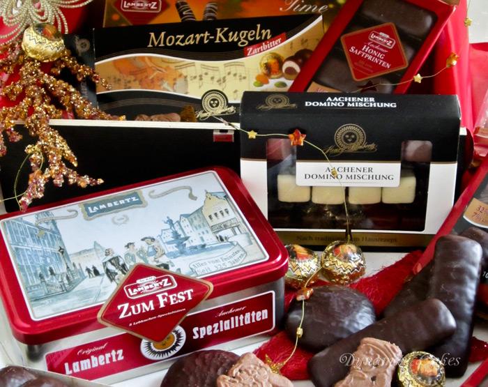 Lambertz Geschenktruhe mit 1700g Gebäck