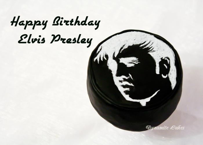 Elvis Geburtstagstorte