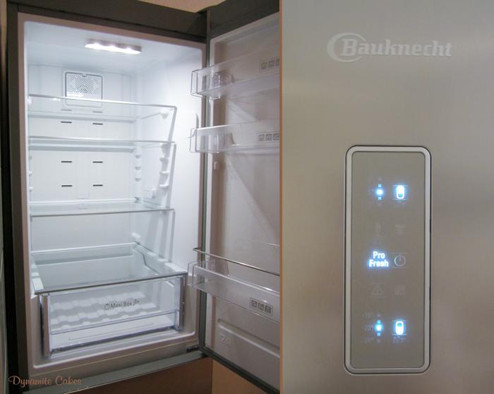Mein neuer bauknecht kuhlschrank kgnf 18 for Kühlschrank bauknecht