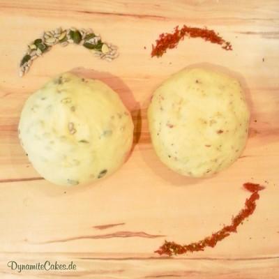 Hefeteig für Bagels mit Saaten und Gewürzmischung