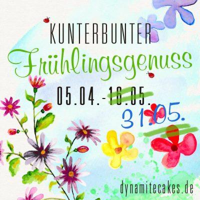 """Blogeventbanner """"Kunterbunter Frühlingsgenuss"""""""