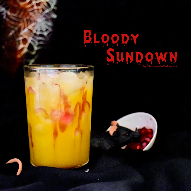 Cocktail Bloody Sundown created by DynamiteCakes.de