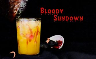 Bloody Sundown Cocktail created by DynamiteCakes.de