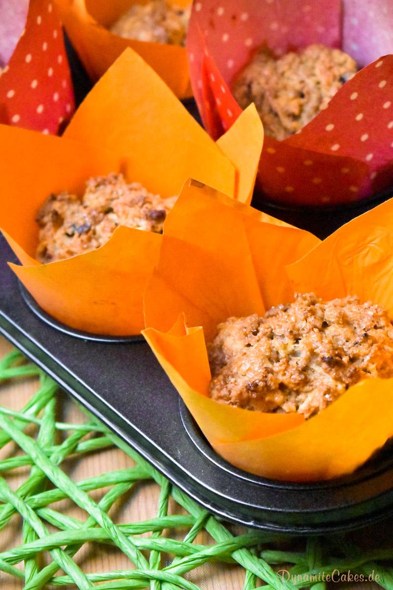 Vegane Apfelmuffins ohne Soja von DynamiteCakes.de