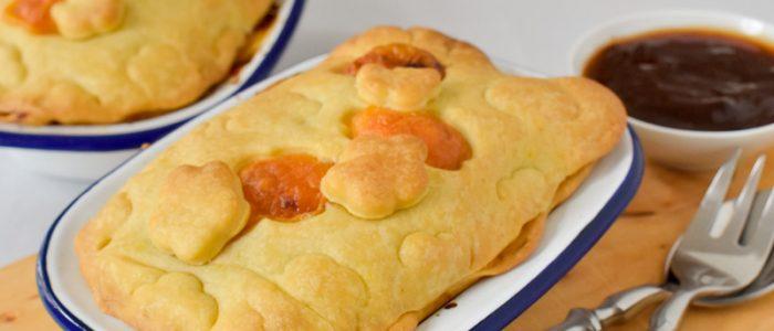 Hackfleisch-Pastete mit Cheddar und Barbecuesoße auf DynamiteCakes.de