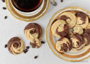 Kaffeerosen – Spritzgebäck mit Klarstein Aromatica [Anzeige]