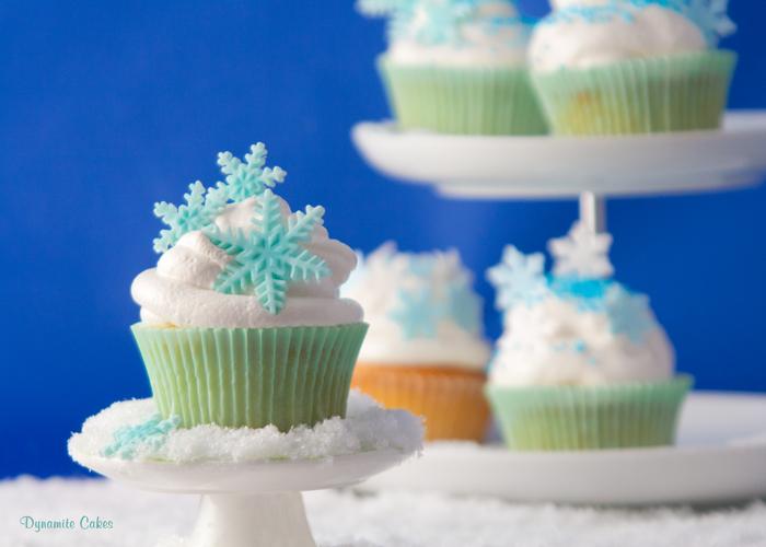 Winterliche Cupcakes