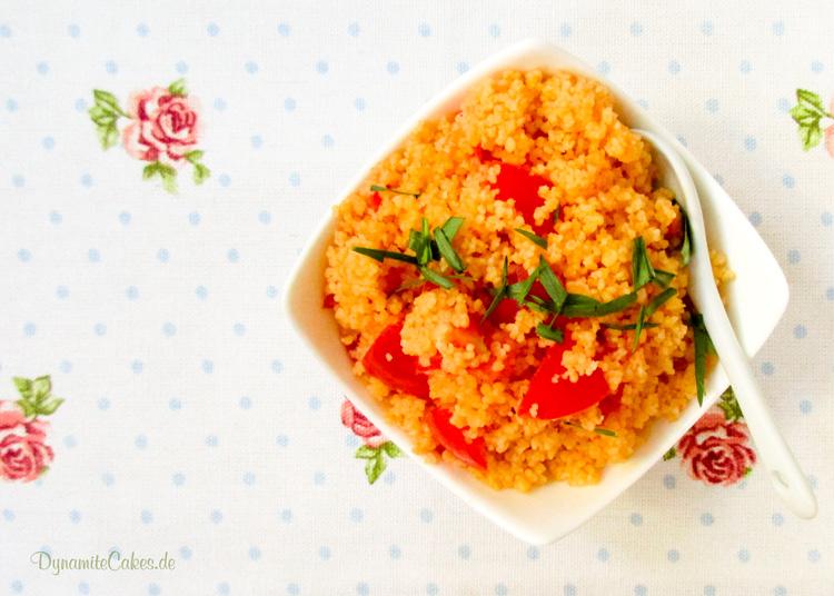 Couscous mit Tomaten auf DynamiteCakes.de