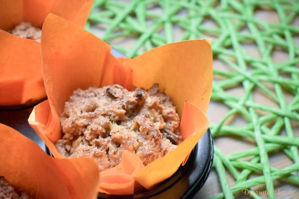 Vegane Apfelmuffin ohne Soja auf DynamiteCakes.de